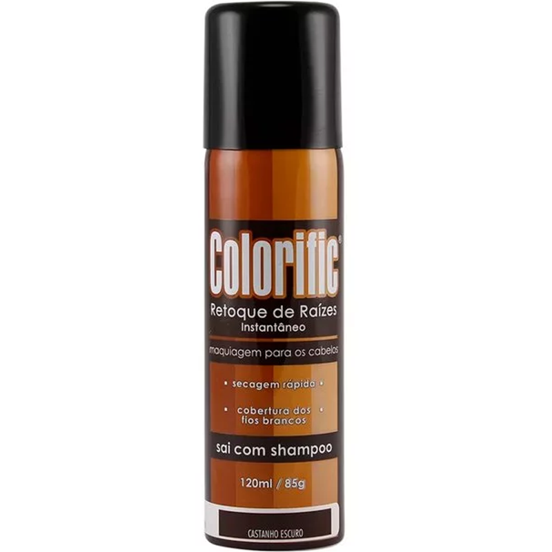Colorific Retoque Castanho Escuro 120mL