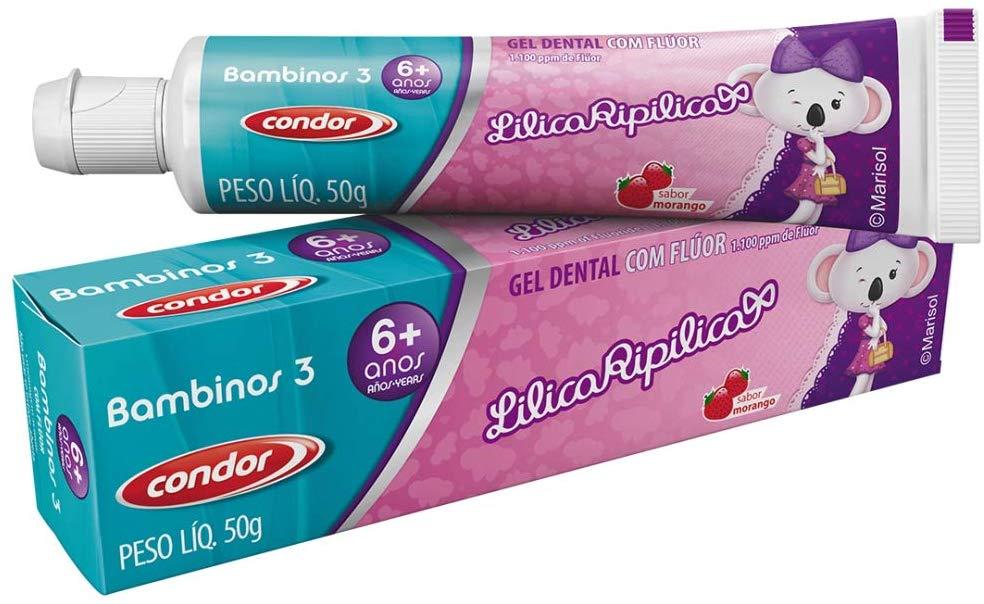 Condor Creme Dental Bambinos Lilica Ripilica 50g