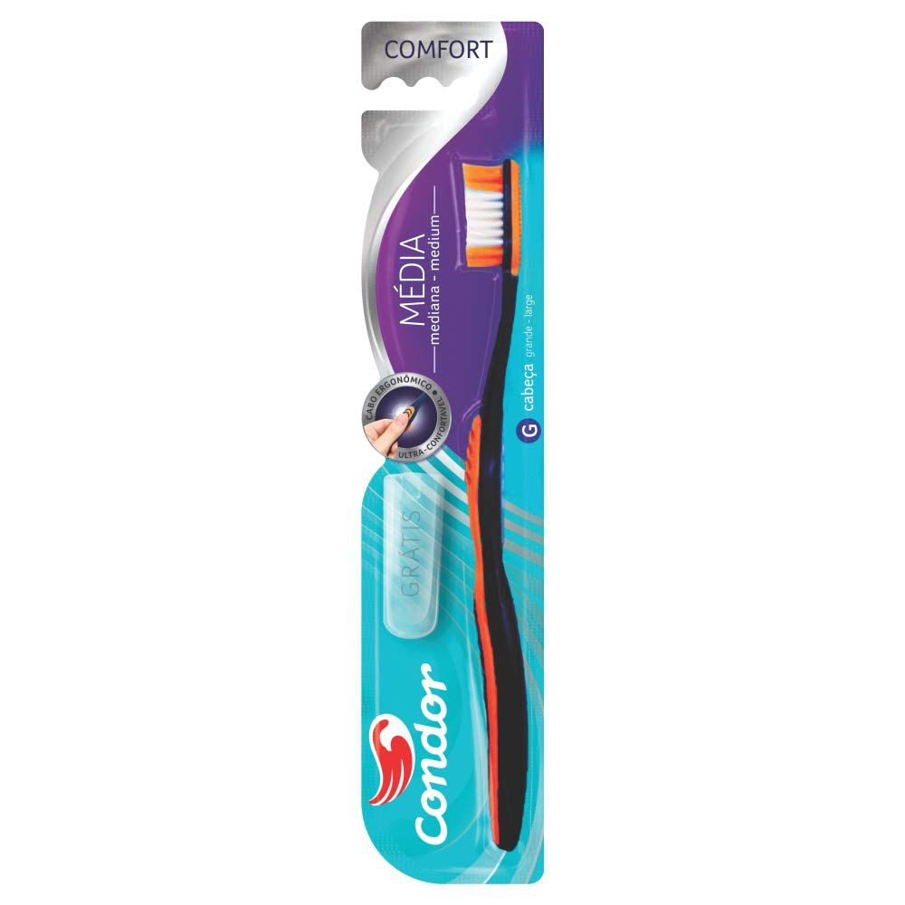 Condor Escova Dental Comfort Média 32671