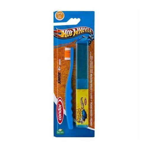 Condor Escova Dental Junior Macia Hot Wheels 31600