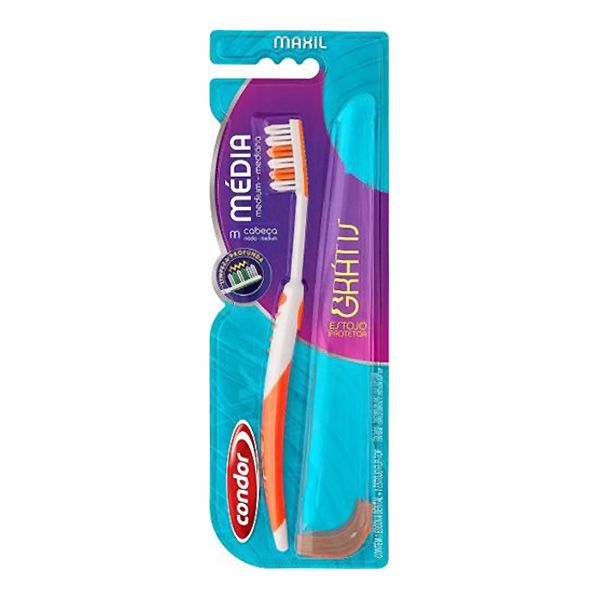 Condor Escova Dental Maxil Média 32581
