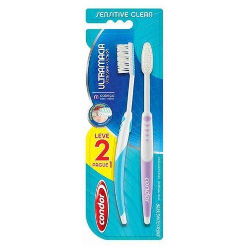 Condor Escova Dental Sensitive Clean Leve 2 Pague 1 8114