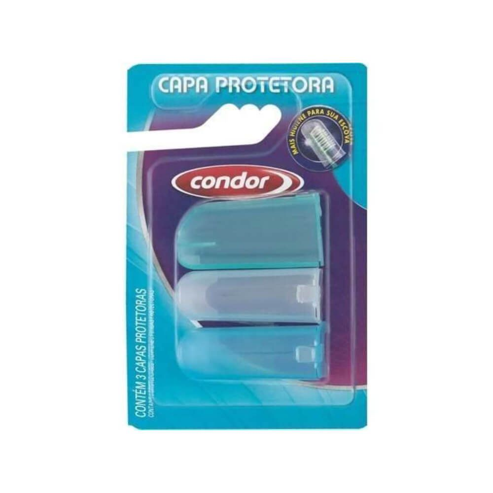 Condor Proteção para Escovas de Dentes com 3