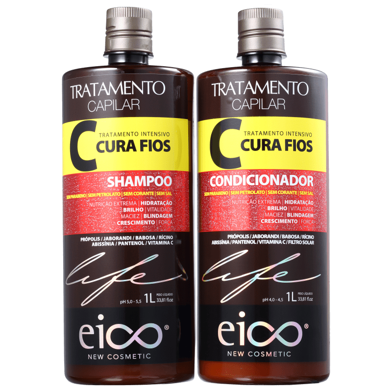 Eico Life Kit Cura Fios Duo 1000mL