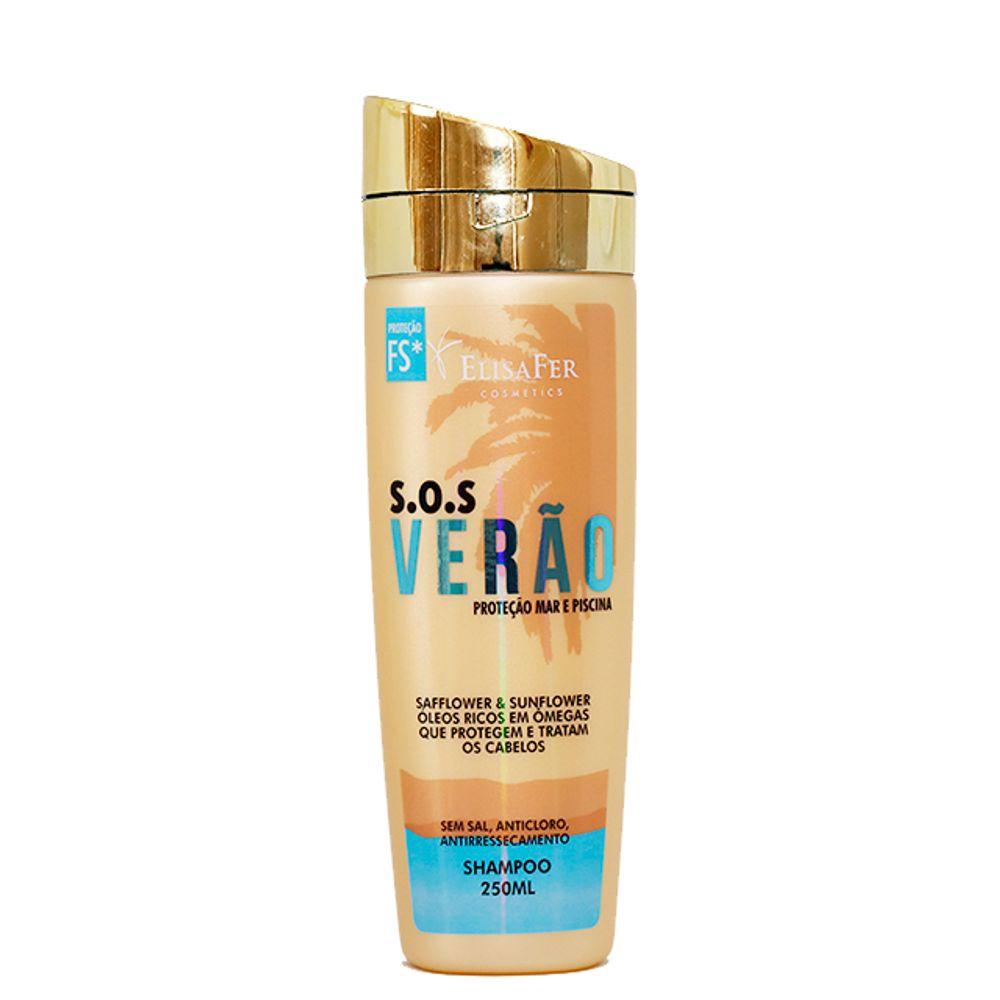Elisafer Shampoo S.O.S Verão 250mL