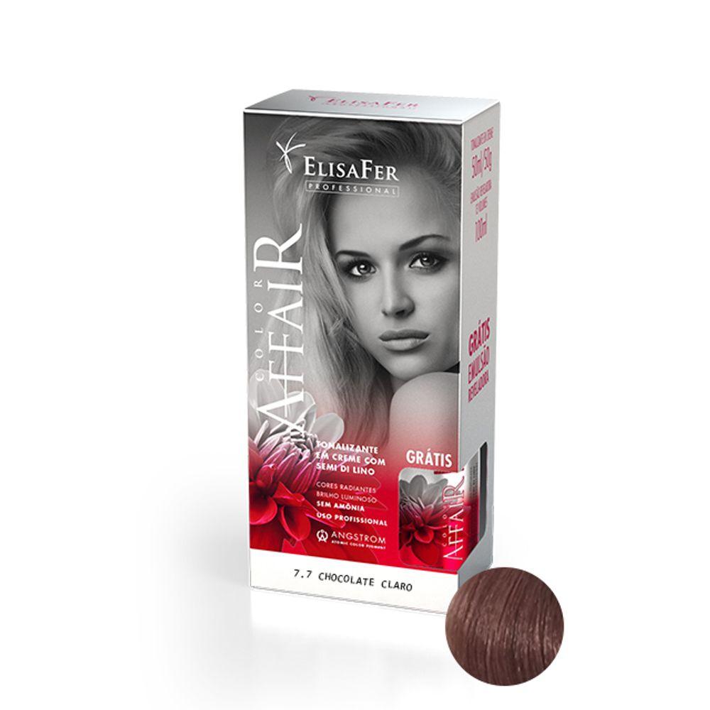 Elisafer Tonalizante Color Affair 7.7 Chocolate Claro