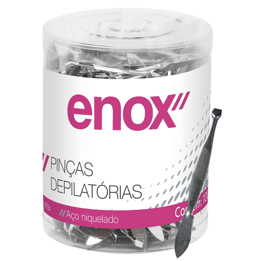 Enox Pinça Depilatória 1 unidade