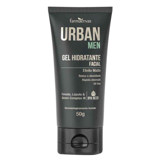 Urban Men Gel Hidratante Facial 50g