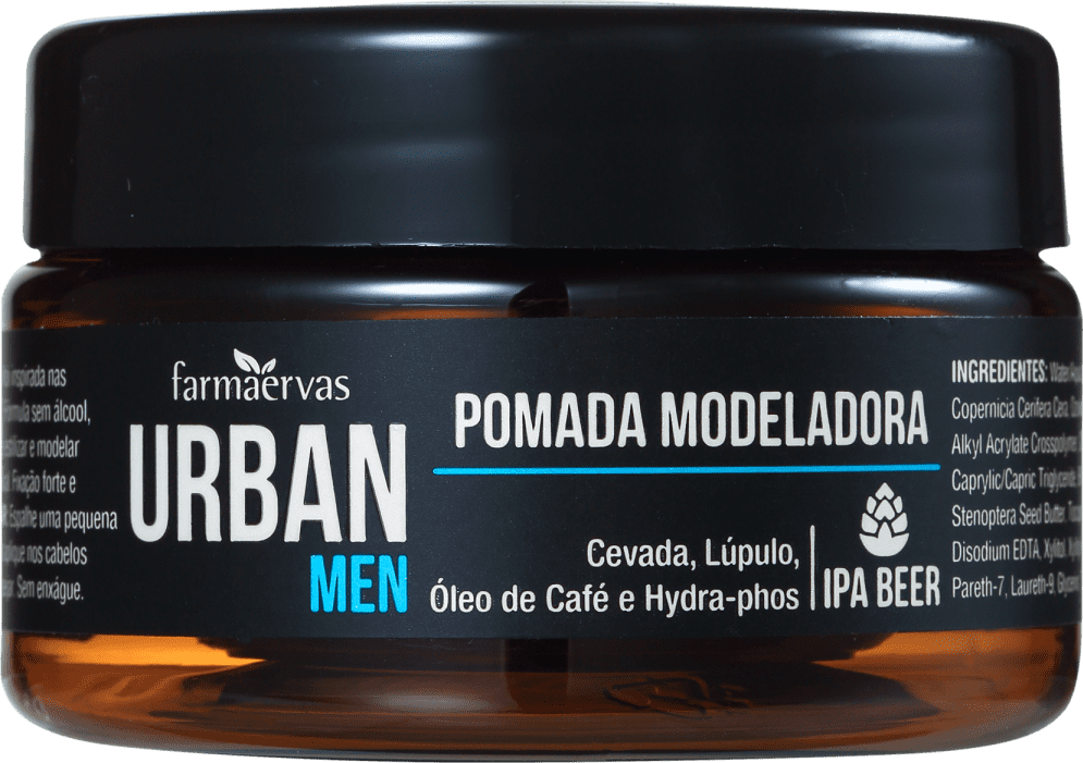 Farmaervas Pomada para Cabelo Urban Men 50g