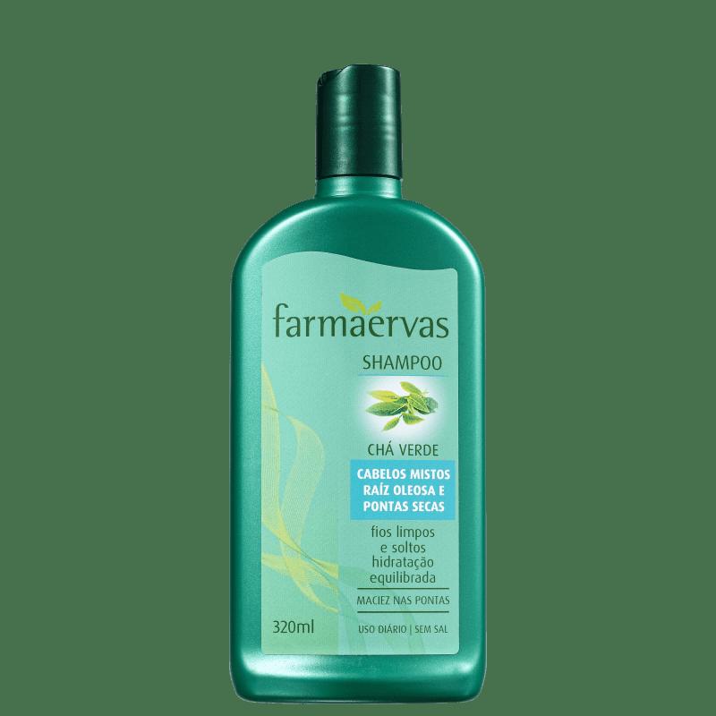 Farmaervas Shampoo Chá Verde 320ml
