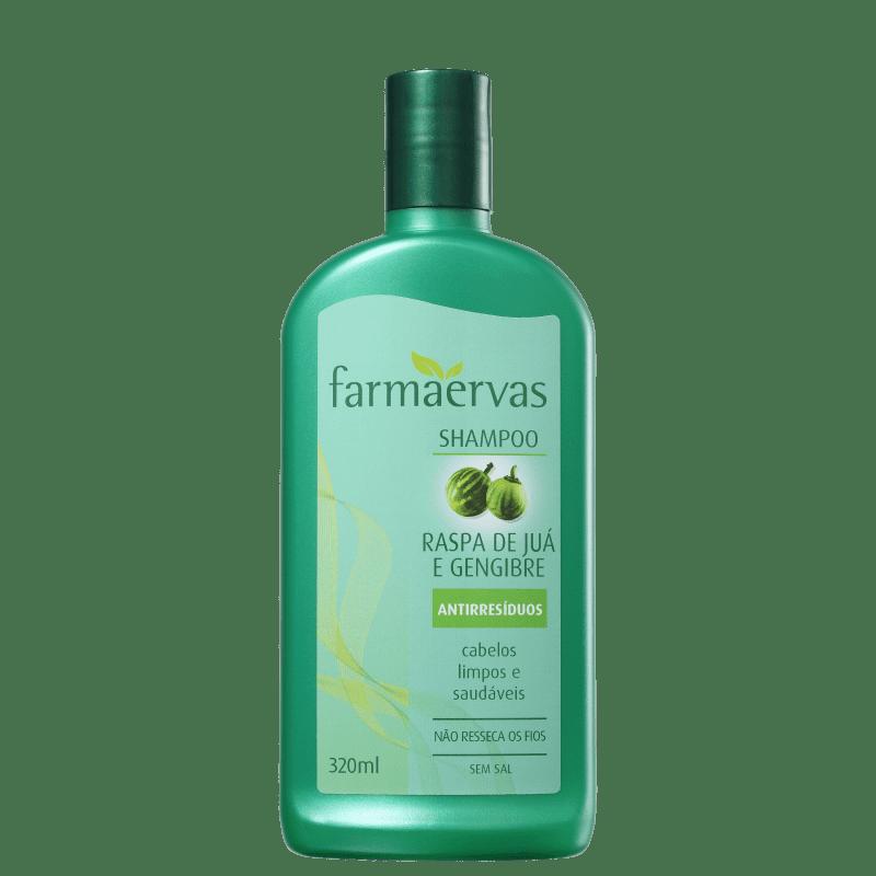 Farmaervas Shampoo Juá e Gengibre 320ml