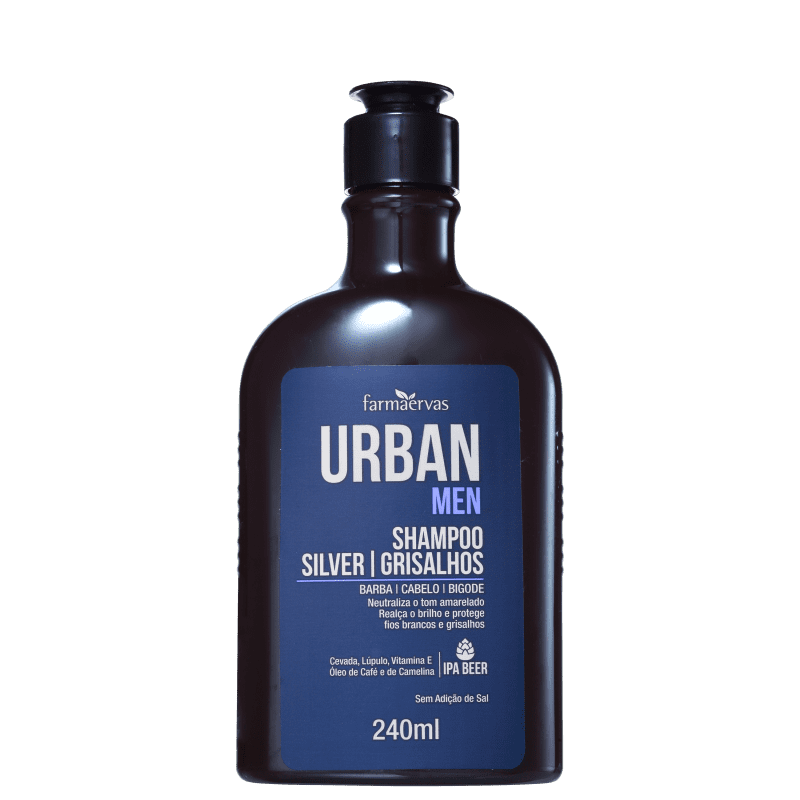 Farmaervas Shampoo Urban Men 240ml