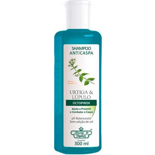 Flores e Vegetais Shampoo Anticaspa Urtiga e Lúpulo 300ml