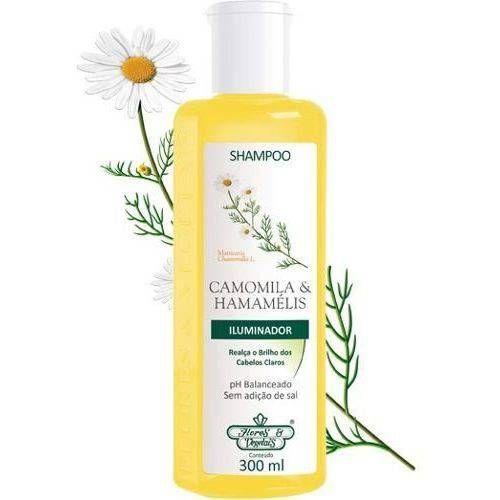 Flores e Vegetais Shampoo Camomila e Hamamélis 300ml