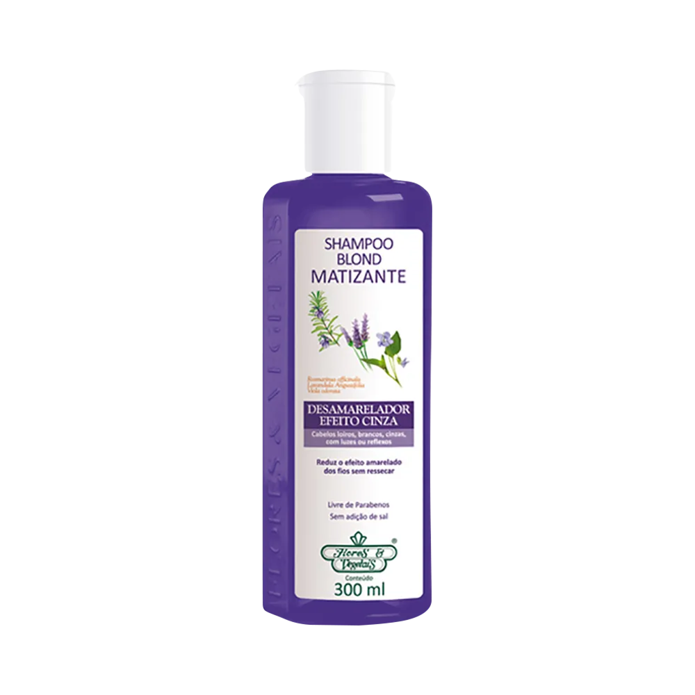 Flores e Vegetais Shampoo Matizante Blond 300ml