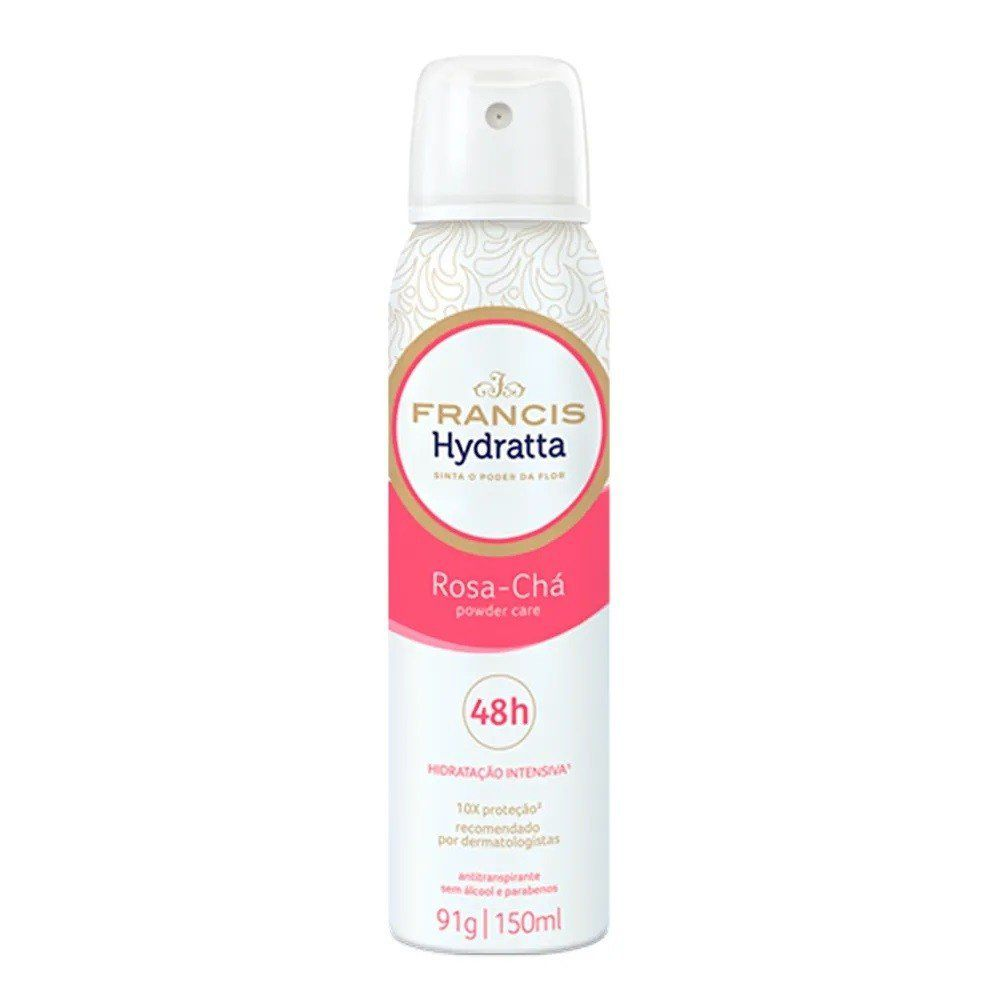 Francis Desodorante Aerosol Hydratta Powder Care 150mL