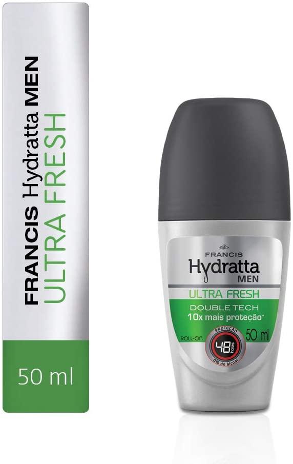 Francis Desodorante Roll-on Hydratta Men Ultra Fresh 50mL