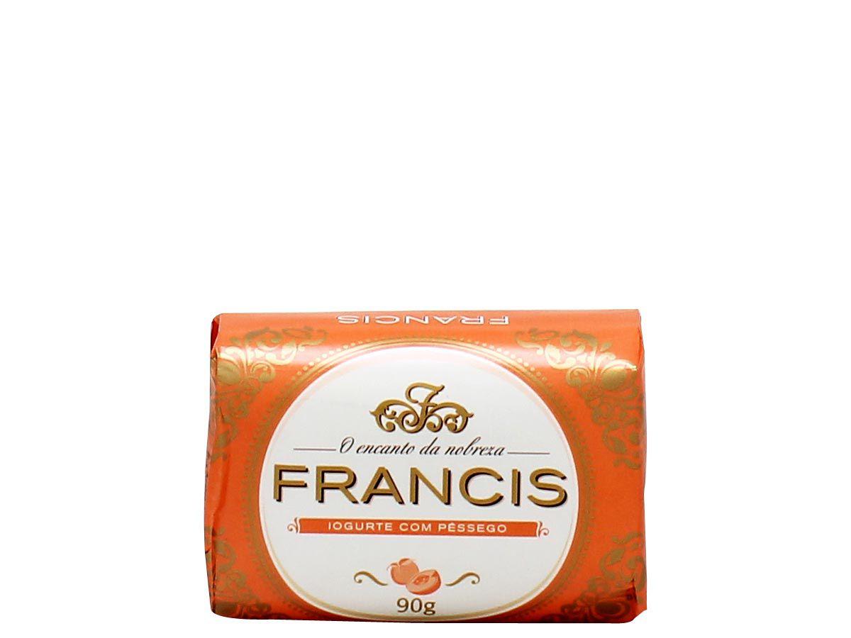 Francis Sabonete Antibacteriano Iogurte com Pêssego 90g