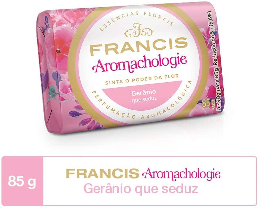 Francis Sabonete Aromachologie Gerânio 85g