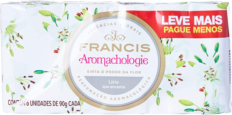 Francis Sabonete Aromachologie Lírio 540g