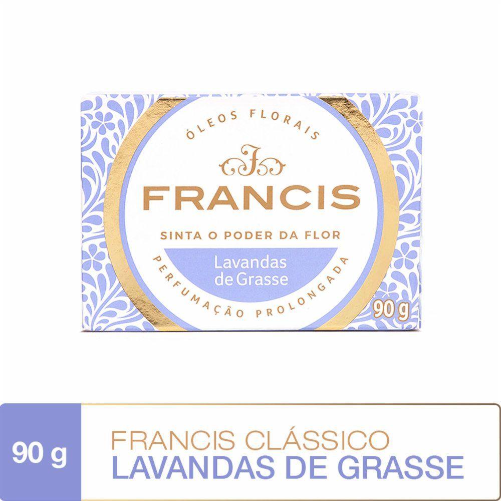 Francis Sabonete Clássico Lavandas de Grasse 90g