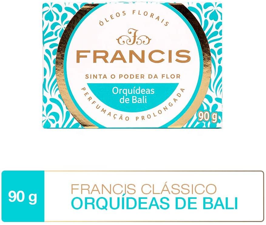Francis Sabonete Clássico Orquídeas de Bali 90g