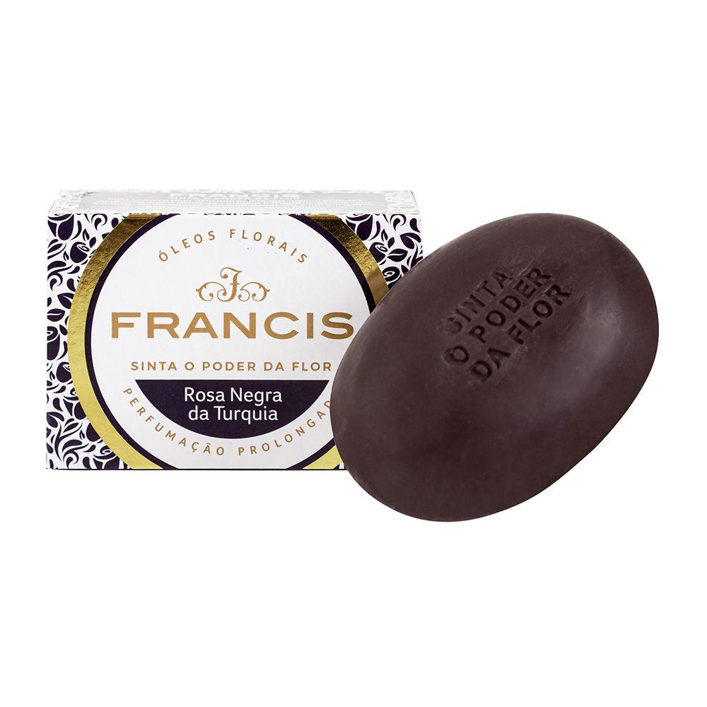 Francis Sabonete Clássico Rosa Negra da Turquia 90g