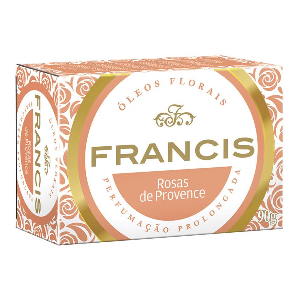 Francis Sabonete Clássico Rosas de Provence 90g