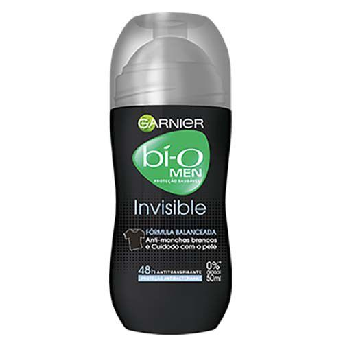Garnier Bí-O Desodorante Roll-on Invisible Masculino 50mL