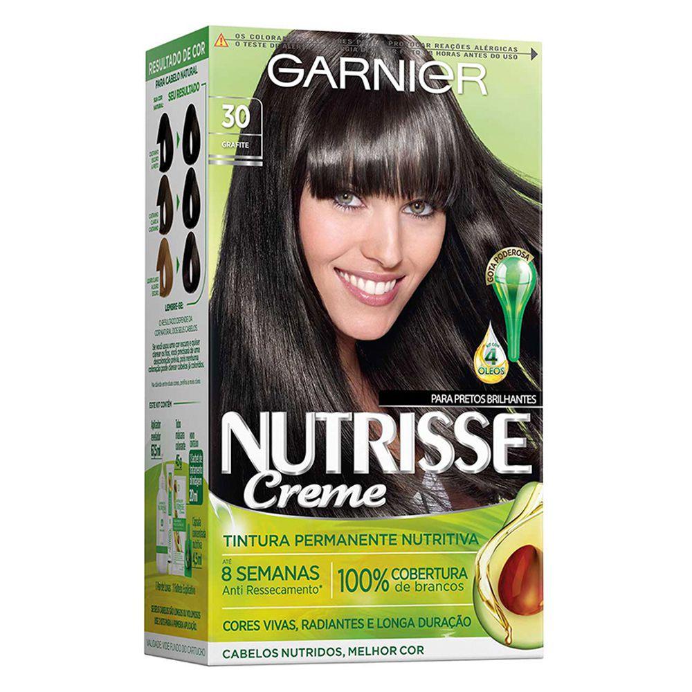 Garnier Coloração Nutrisse 30 Grafite 213g