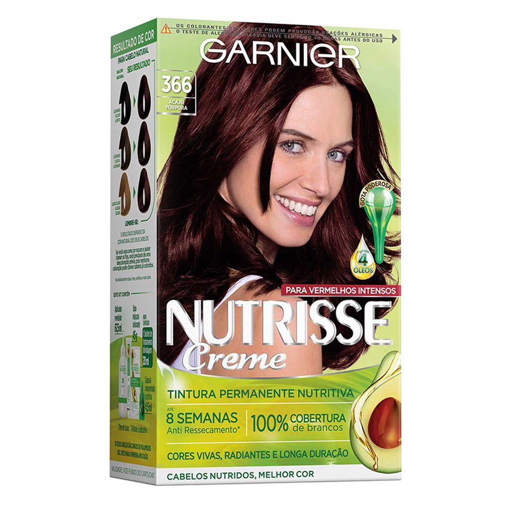 Garnier Coloração Nutrisse 366 Acaju Purpura 213g