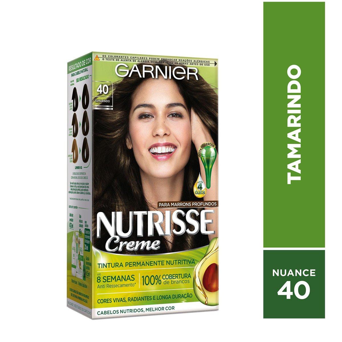 Garnier Coloração Nutrisse 40 Tamarindo 213g