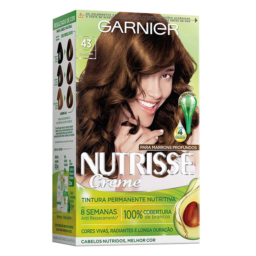 Garnier Coloração Nutrisse 43 Capuccino 213g