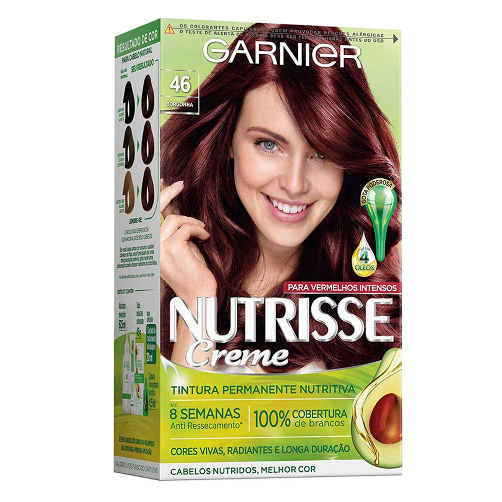 Garnier Coloração Nutrisse 46 Borgonha 213g