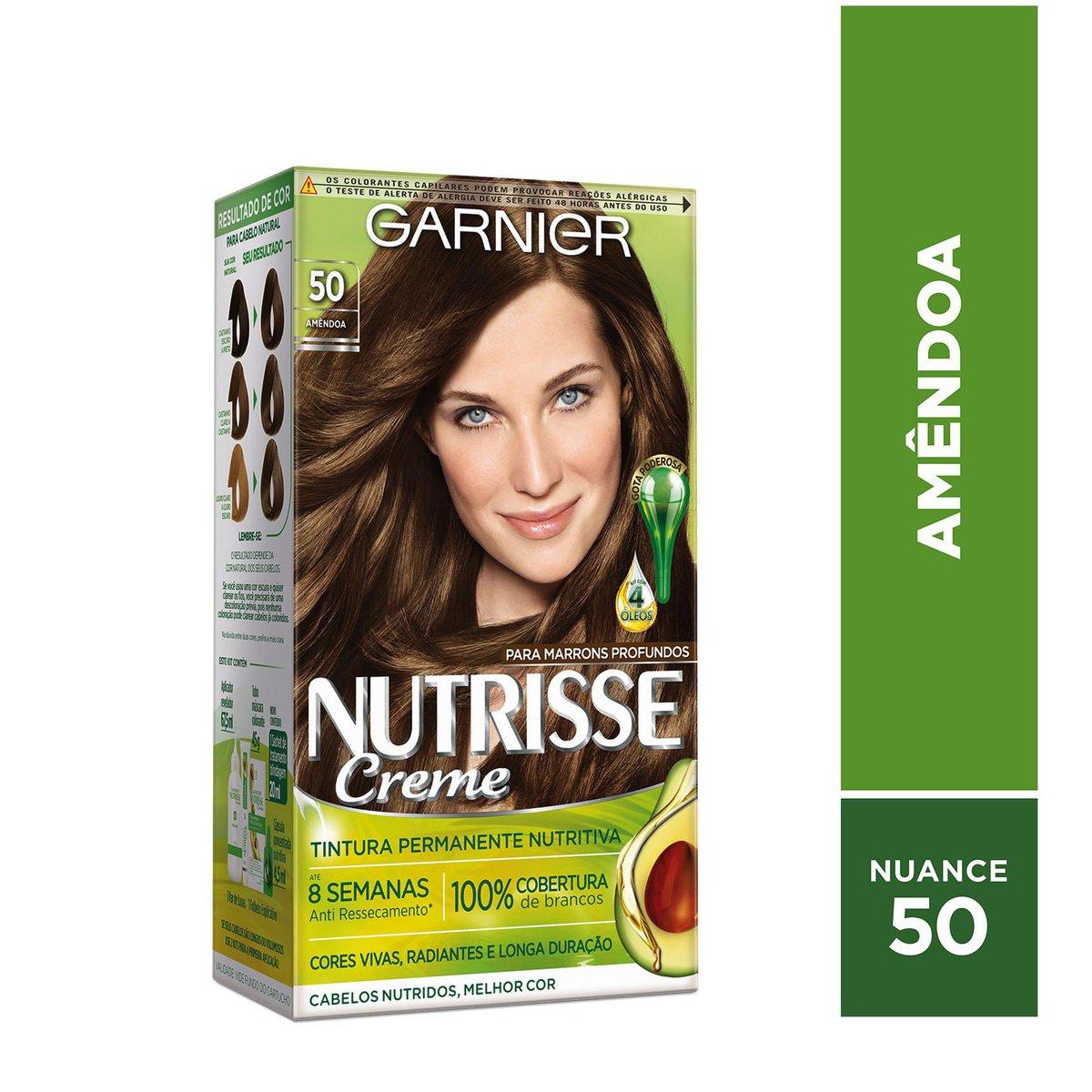 Garnier Coloração Nutrisse 50 Amêndoa 213g