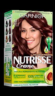 Garnier Coloração Nutrisse 52 Marrom Açaí 213g