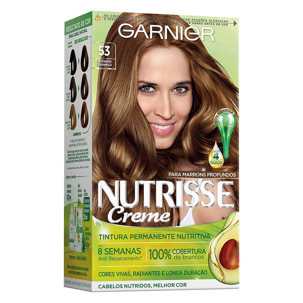 Garnier Coloração Nutrisse 53 Castanho Camarelo 213g