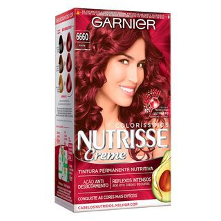Garnier Coloração Nutrisse 6660 Rouge 213g