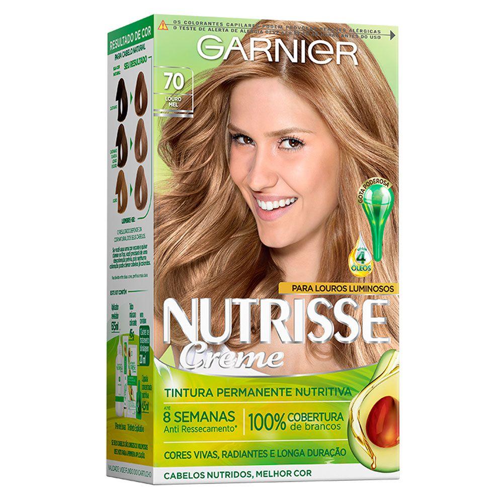 Garnier Coloração Nutrisse 70 Louro Mel 213g