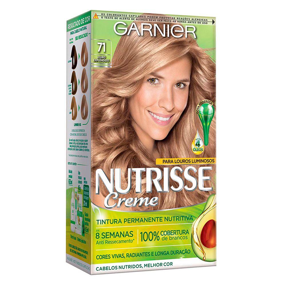Garnier Coloração Nutrisse 71 Louro Explêndido 213g