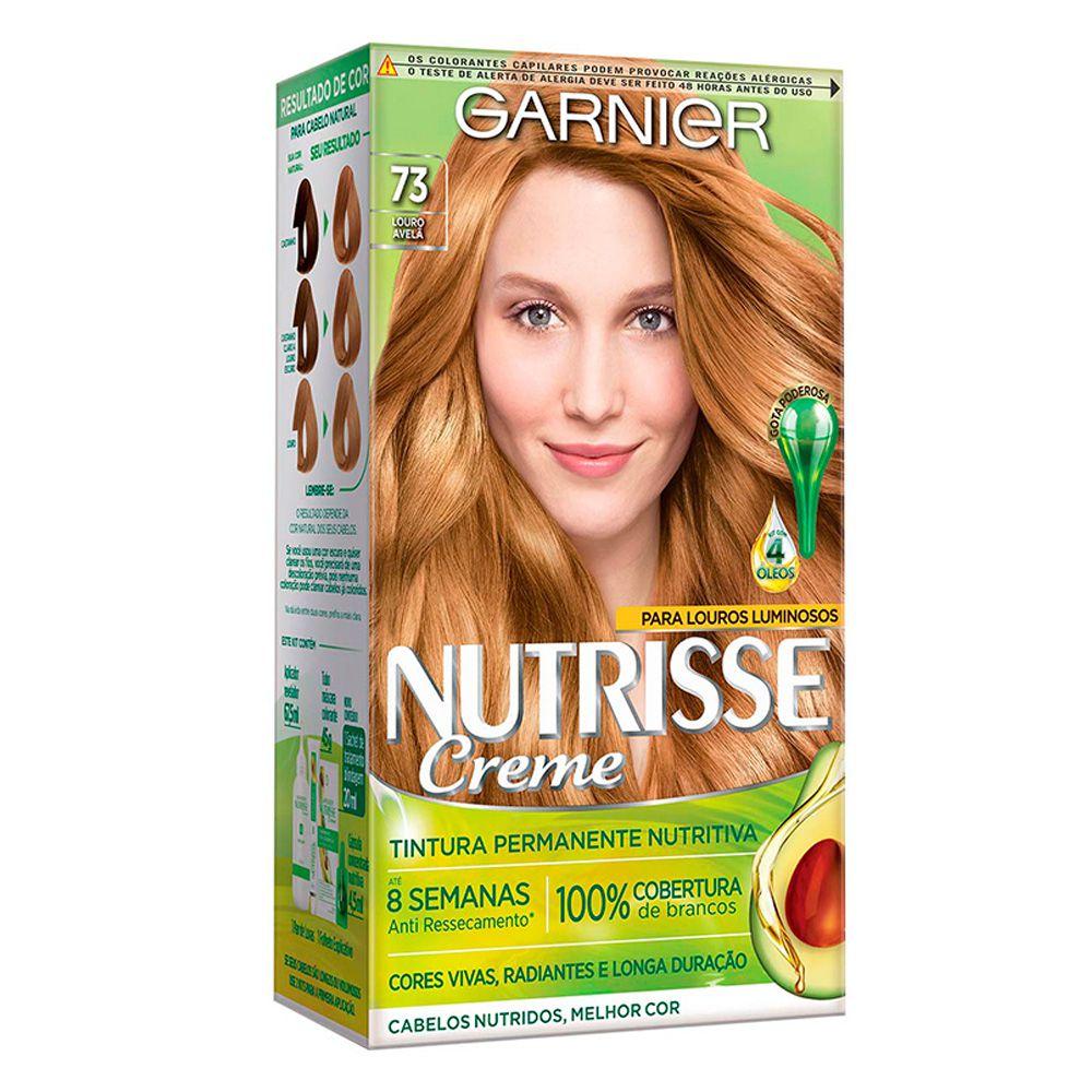 Garnier Coloração Nutrisse 73 Louro Avelã 213g
