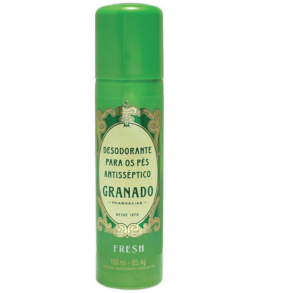 Granado Desodorante para os Pés Antisséptico Fresh 100g