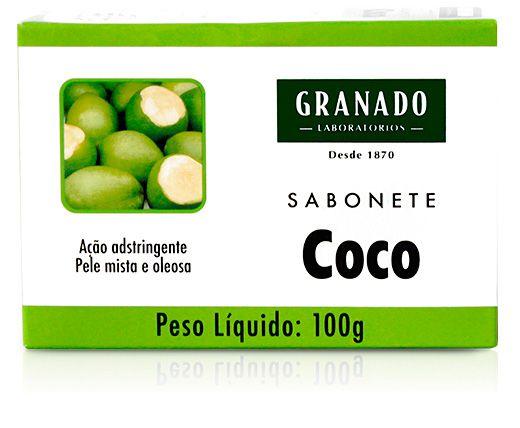Granado Sabonete Adstringente Coco 100g