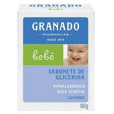 Granado Sabonete de Glicerina Lavanda Bebê 90g