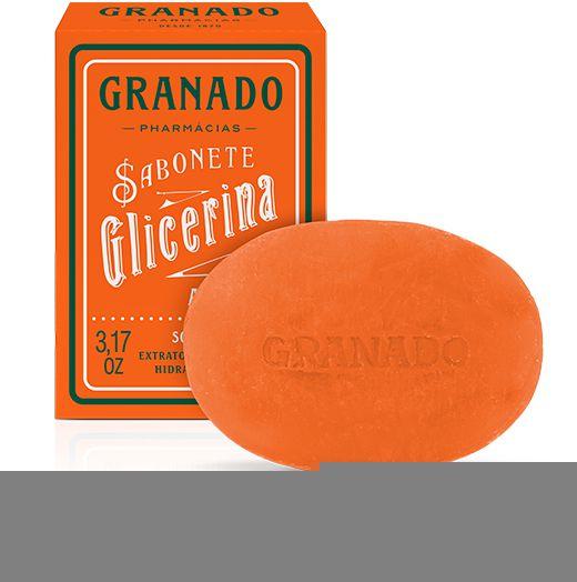 Granado Sabonete Glicerina Amêndoas 90g
