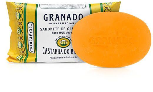 Granado Sabonete Glicerina Castanha 90g
