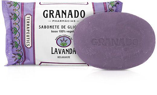 Granado Sabonete Glicerina Lavanda 90g