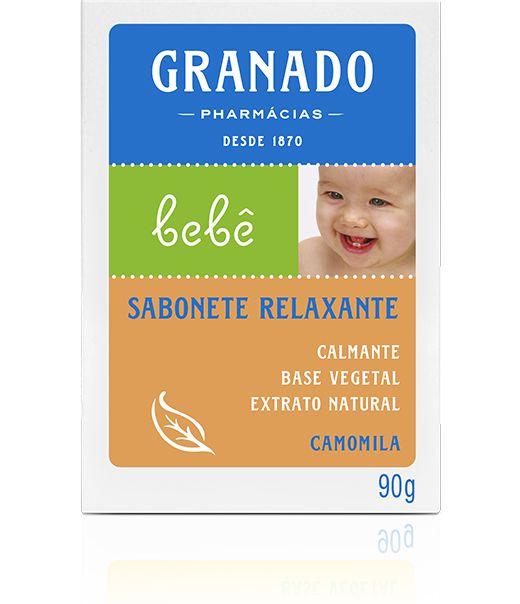 Granado Sabonete Relaxante Camomila Bebê 90g