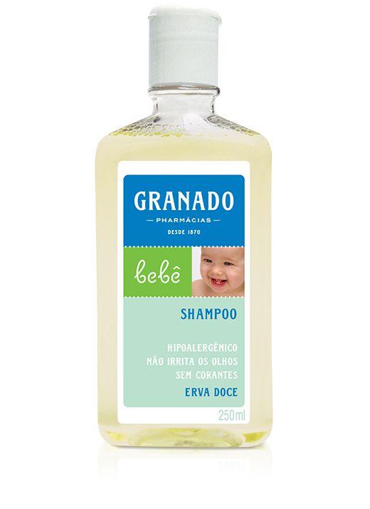 Granado Shampoo Bebê Erva-Doce 250mL