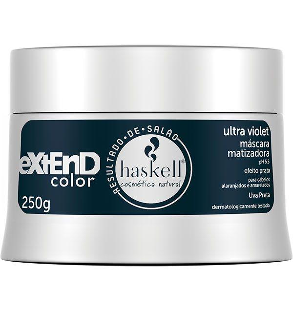 Haskell Máscara Matizadora Extend Color Ultra Violet 250 g